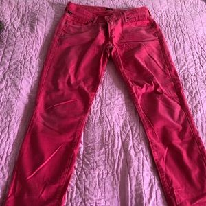 Citizens of Humanity pink jeans